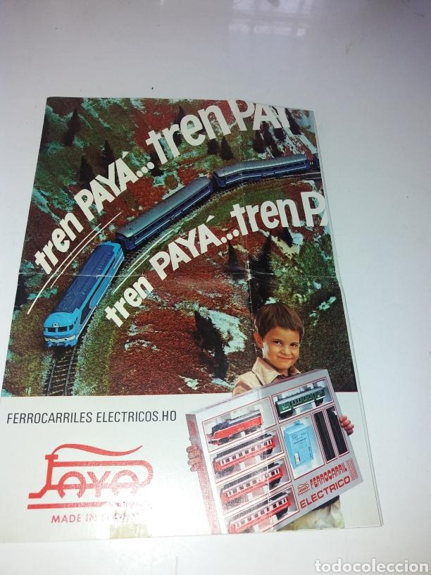 CATALOGO TRENES PAYA HO (Juguetes - Trenes a Escala H0 - Payá H0)