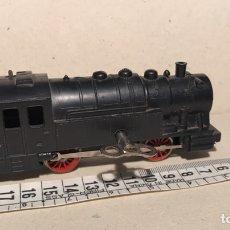 Trenes Escala: LOCOMOTORA CARBONERA PAYA A CUERDA. FUNCIONA. Lote 134419331