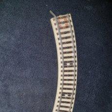 Trenes Escala: TRAMO VIA CURVO TREN HOJALATA PAYA. Lote 138251172