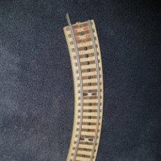 Trenes Escala: TRAMO VIA CURVO TREN HOJALATA PAYA. Lote 138254873
