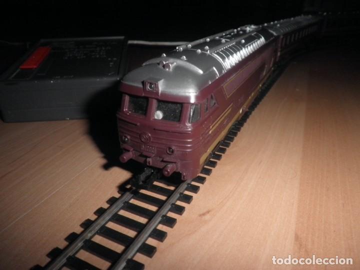 Trenes Escala: Tren electrico Paya con Transformador Bitensión y Regulador de Velocidad Ref: 5035 FUNCIONANDO - Foto 11 - 139599746