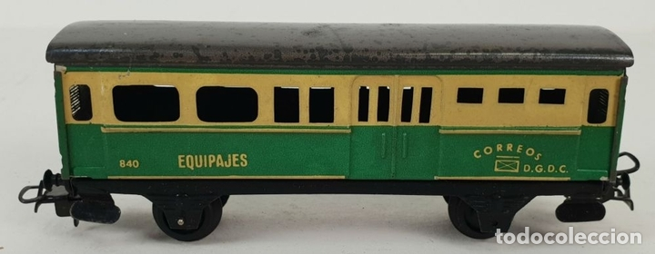 Trenes Escala: FERROCARRIL ELECTRICO A PILAS. PAYÁ. ESCALA H0. CAJA ORIGINAL. CIRCA 1960. - Foto 10 - 139964102