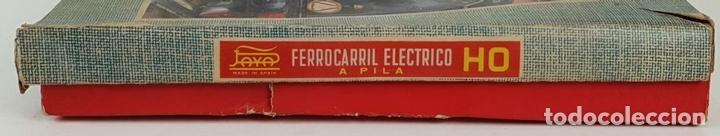 Trenes Escala: FERROCARRIL ELECTRICO A PILAS. PAYÁ. ESCALA H0. CAJA ORIGINAL. CIRCA 1960. - Foto 14 - 139964102