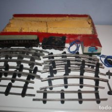 Trenes Escala: TREN PAYA. VAGON COCHE PASAJEROS, TENDER, VIAS, TRANSFORMADOR. Lote 149784318