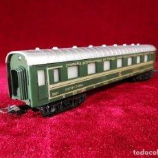 Comboios Escala: VAGON PAYA ORIGINAL H0 COCHE CAMAS 5611 TREN BARCELONA - PARIS . Lote 151853818