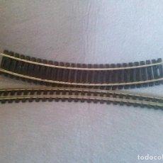 Trenes Escala: LOTE DE DOS VIAS PAYA (CURVAS). Lote 153643494