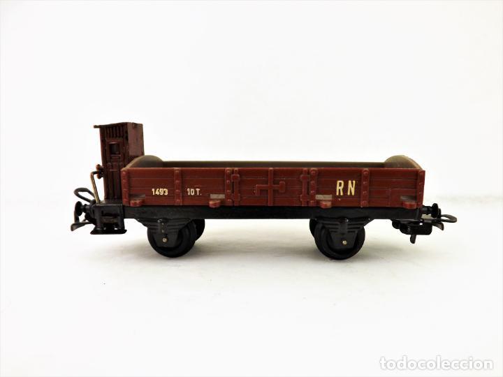 Trenes Escala: Vagón Payá RENFE . Ref 1673 Borde bajo con garita - Foto 2 - 233721740