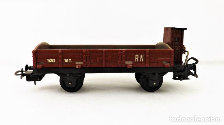 Trenes Escala: Vagón Payá RENFE . Ref 1673 Borde bajo con garita - Foto 4 - 233721740