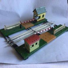 Trenes Escala: PAYA PASO A NIVEL ESCALA 0. Lote 156589374
