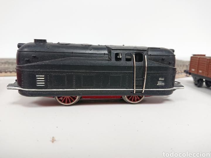 Trenes Escala: Lote locomotora tren Paya 840 con remolque RN y cisterna Campsa Ho - Foto 2 - 157306114