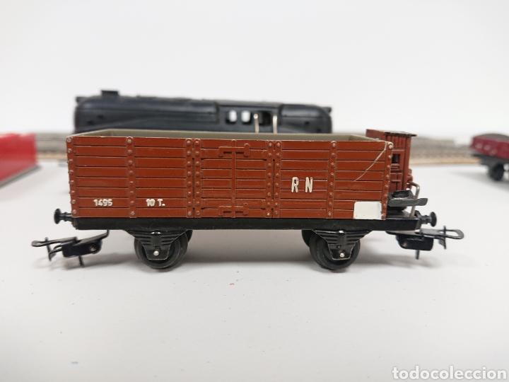 Trenes Escala: Lote locomotora tren Paya 840 con remolque RN y cisterna Campsa Ho - Foto 3 - 157306114