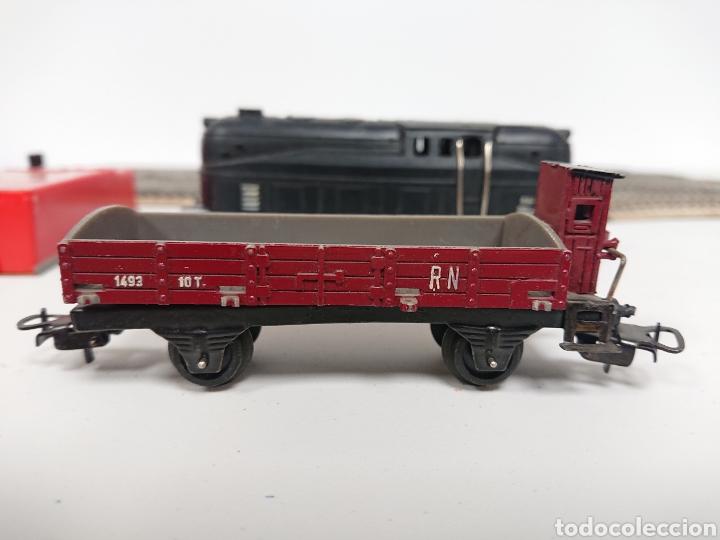 Trenes Escala: Lote locomotora tren Paya 840 con remolque RN y cisterna Campsa Ho - Foto 4 - 157306114