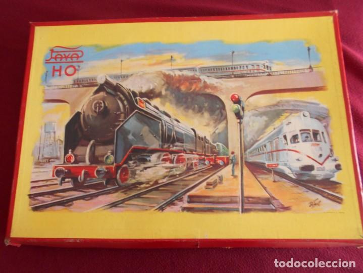 TREN DE JUGUETE ANTIGUO PAYA AÑOS 60 (Juguetes - Trenes a Escala H0 - Payá H0)