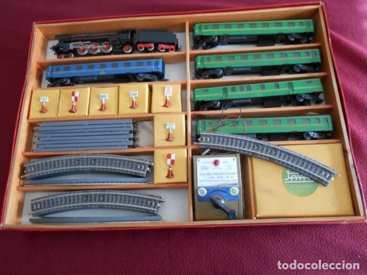 Trenes Escala: tren de juguete antiguo paya años 60 - Foto 2 - 159470622