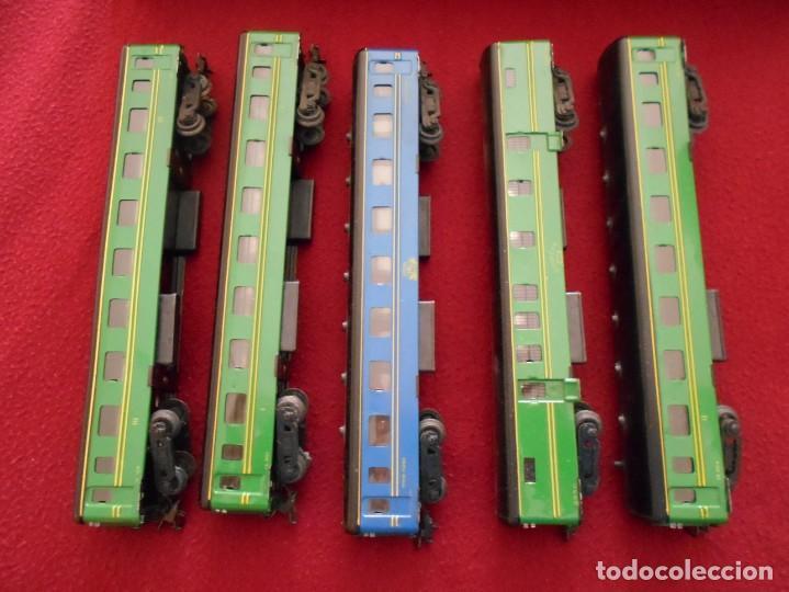 Trenes Escala: tren de juguete antiguo paya años 60 - Foto 6 - 159470622