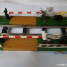 Trenes Escala: PASO A NIVEL DE PAYA ELETRICO EN PERFECTAS CONDICIONES DE FUCIONAMIENTO. Lote 163549746