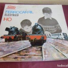 Trenes Escala: PAYÁ.FERROCARRIL ELECTRICO HO.1967.VER FOTOS Y DETALLES.. Lote 182949658