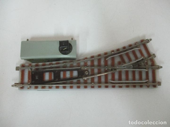Trenes Escala: Desvío Automático Izquierda - Marca Paya HO - Ref 1466 - Caja Original - Foto 2 - 169676356