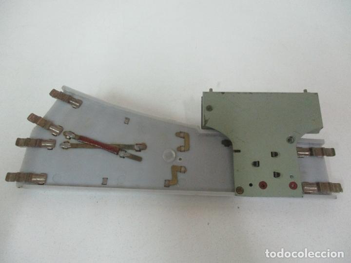 Trenes Escala: Desvío Automático Izquierda - Marca Paya HO - Ref 1466 - Caja Original - Foto 5 - 169676356