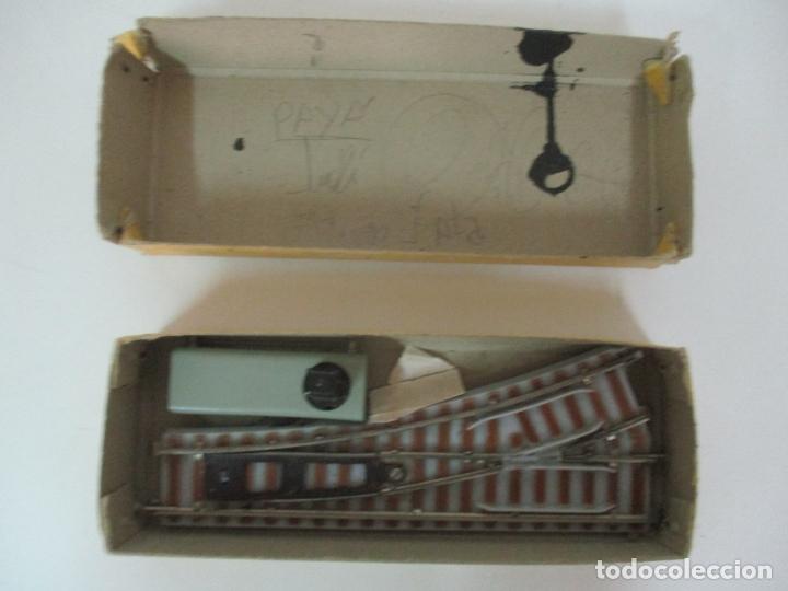 Trenes Escala: Desvío Automático Izquierda - Marca Paya HO - Ref 1466 - Caja Original - Foto 11 - 169676356
