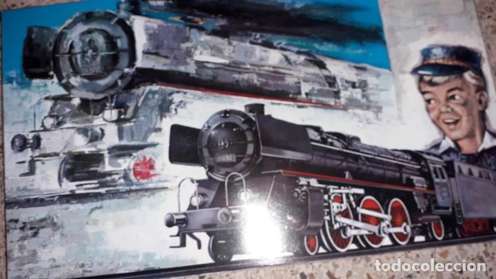 Trenes Escala: TREN PAYA HO COMPLETO PASAJEROS Y LOCOMOTORA VAPOR , TREN DE JUGUETE, TREN ANTIGUO, TREN PAYA - Foto 2 - 173935038