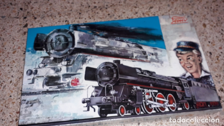 Trenes Escala: TREN PAYA HO COMPLETO PASAJEROS Y LOCOMOTORA VAPOR , TREN DE JUGUETE, TREN ANTIGUO, TREN PAYA - Foto 5 - 173935038