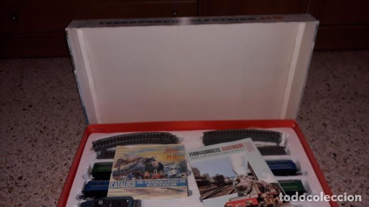 Trenes Escala: TREN PAYA HO COMPLETO PASAJEROS Y LOCOMOTORA VAPOR , TREN DE JUGUETE, TREN ANTIGUO, TREN PAYA - Foto 9 - 173935038
