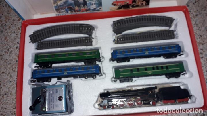 Trenes Escala: TREN PAYA HO COMPLETO PASAJEROS Y LOCOMOTORA VAPOR , TREN DE JUGUETE, TREN ANTIGUO, TREN PAYA - Foto 12 - 173935038