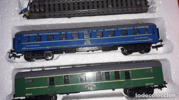 Trenes Escala: TREN PAYA HO COMPLETO PASAJEROS Y LOCOMOTORA VAPOR , TREN DE JUGUETE, TREN ANTIGUO, TREN PAYA - Foto 15 - 173935038