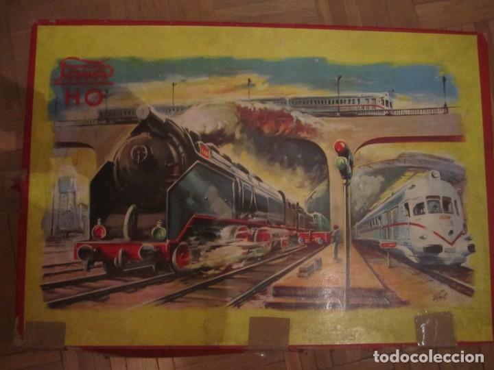 TREN H0 PAYA PACIFIC 1632 DE PASAJEROS DE LOS AÑOS 60 (Juguetes - Trenes a Escala H0 - Payá H0)