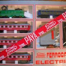 Trenes Escala: TREN PAYÁ, COMPLETO, CON CIRCUITO DE VÍAS Y TRANSFORMADOR. ESCALA H0 . Lote 176434619