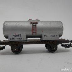 Trenes Escala: VAGÓN CISTERNA ESCALA HO DE PAYA . Lote 177620352