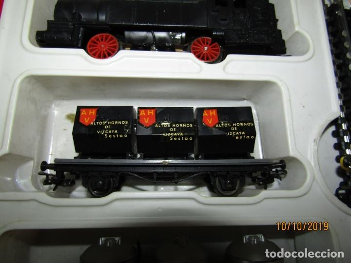 Trenes Escala: Antigua Caja con Tren Eléctrico en Escala *H0* de PAYA - Foto 2 - 178889987