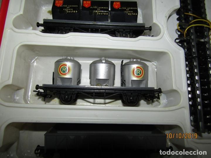 Trenes Escala: Antigua Caja con Tren Eléctrico en Escala *H0* de PAYA - Foto 6 - 178889987
