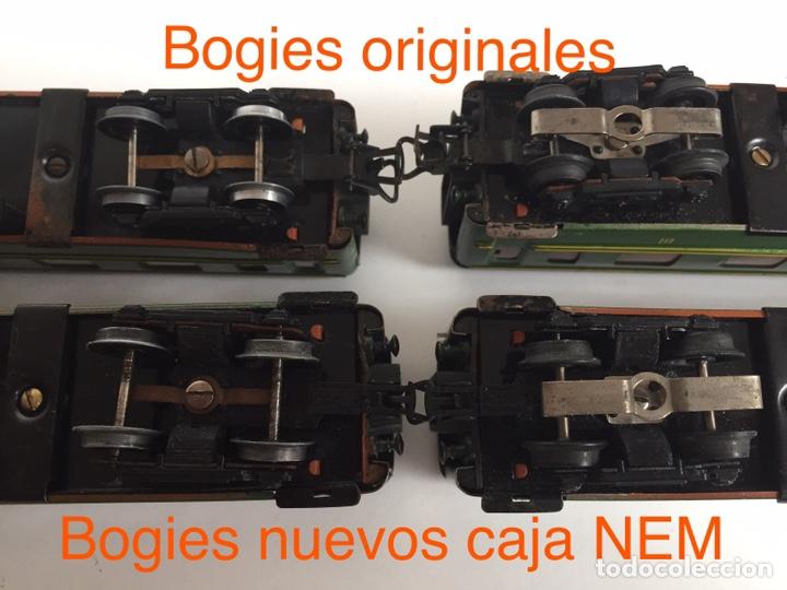 Trenes Escala: Payá repuesto bogie H0 con caja NEM - Foto 4 - 180020645