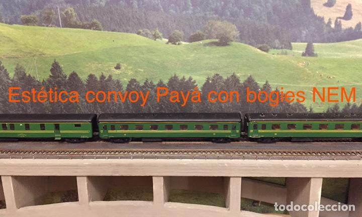 Trenes Escala: Payá repuesto bogie H0 con caja NEM - Foto 5 - 180020645