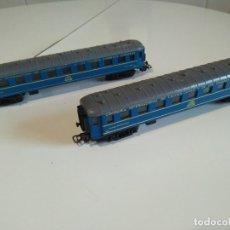 Trenes Escala: VAGONES RESTAURANTE Y CAMAS CIWL DE PAYÁ HO. Lote 181140276