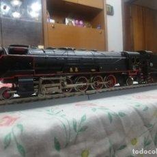 Trenes Escala: LOCOMOTORA SANTA FE DE PAYA ESCALA H0 5 EJES. Lote 182242723