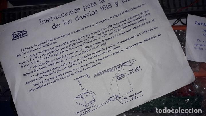 Trenes Escala: TREN PAYA HO LOCOMOTORA VAPOR 1632 MERCANCIAS, TREN ANTIGUO, TREN DE JUGUETE, TREN PAYA HO - Foto 13 - 182798641