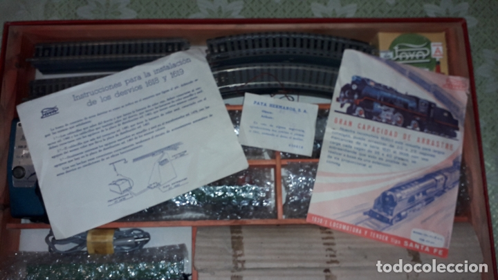 Trenes Escala: TREN PAYA HO LOCOMOTORA VAPOR 1632 MERCANCIAS, TREN ANTIGUO, TREN DE JUGUETE, TREN PAYA HO - Foto 16 - 182798641
