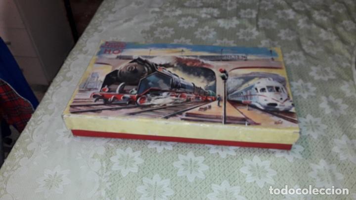 TREN PAYA HO LOCOMOTORA VAPOR 1632 MERCANCIAS, TREN ANTIGUO, TREN DE JUGUETE, TREN PAYA HO (Juguetes - Trenes a Escala H0 - Payá H0)