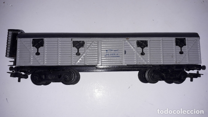Trenes Escala: TREN PAYA HO LOCOMOTORA VAPOR 1632 MERCANCIAS, TREN ANTIGUO, TREN DE JUGUETE, TREN PAYA HO - Foto 37 - 182798641