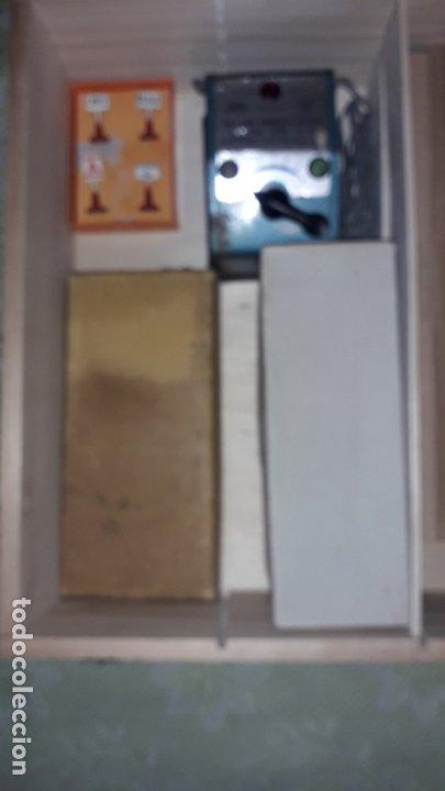 Trenes Escala: TREN PAYA HO MERCANCIAS LOCOMOTORA REF. 1632, TREN ANTIGUO, TREN PAYA, JUGUETE ANTIGUO - Foto 4 - 183331730