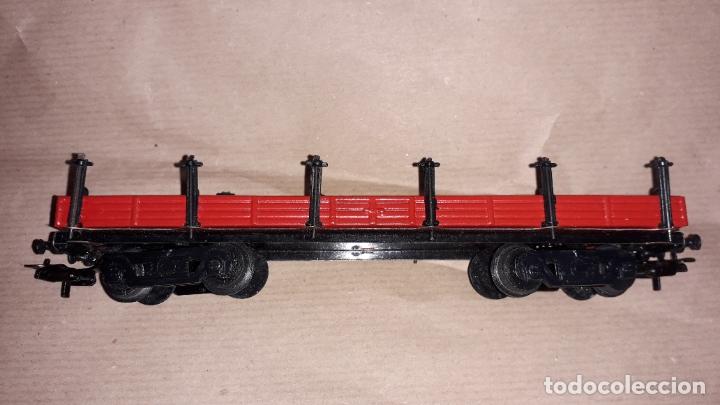 Trenes Escala: TREN PAYA HO MERCANCIAS LOCOMOTORA REF. 1632, TREN ANTIGUO, TREN PAYA, JUGUETE ANTIGUO - Foto 33 - 183331730