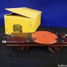 Trenes Escala: ANTIGUO VAGÓN PAYA DE HOJALATA.. Lote 183711980