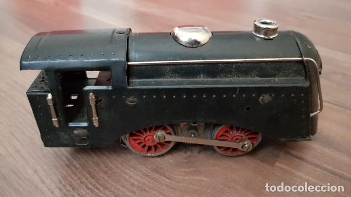 Trenes Escala: Antiguo Tren Paya en su caja original y caja grande entera de vias. VER FOTOS - Foto 5 - 184329032