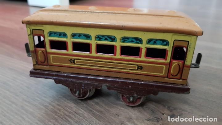 Trenes Escala: Antiguo Tren Paya en su caja original y caja grande entera de vias. VER FOTOS - Foto 6 - 184329032