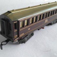 Trenes Escala: PAYÁ ESCALA S VAGÓN COCHE DE PASAJEROS CON SISTEMA DE LUZ.TAL CUAL FOTOS. Lote 186108245