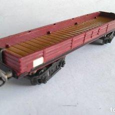 Trenes Escala: PAYÁ S VAGÓN CARGA ABIERTO AÑOS 50. Lote 186110430