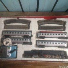 Trenes Escala: LOTE TREN PAYÁ LOCOMOTORA SANTA FE 1680. Lote 186288948